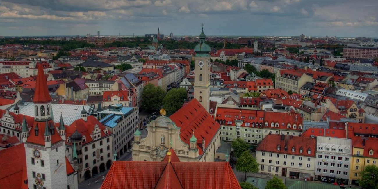 22 Munich Cityscape22 von John Morgan via Flickr CC BY 2 0