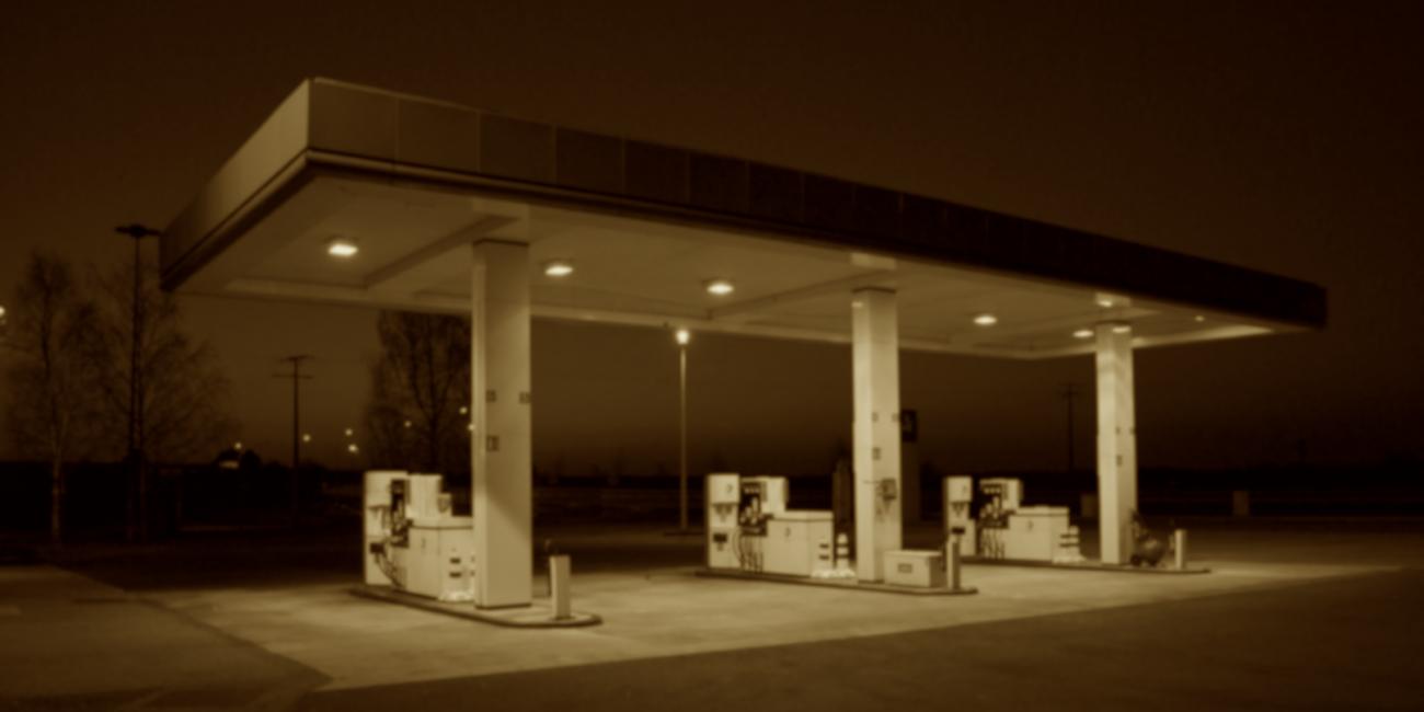 Tankstelle neutral