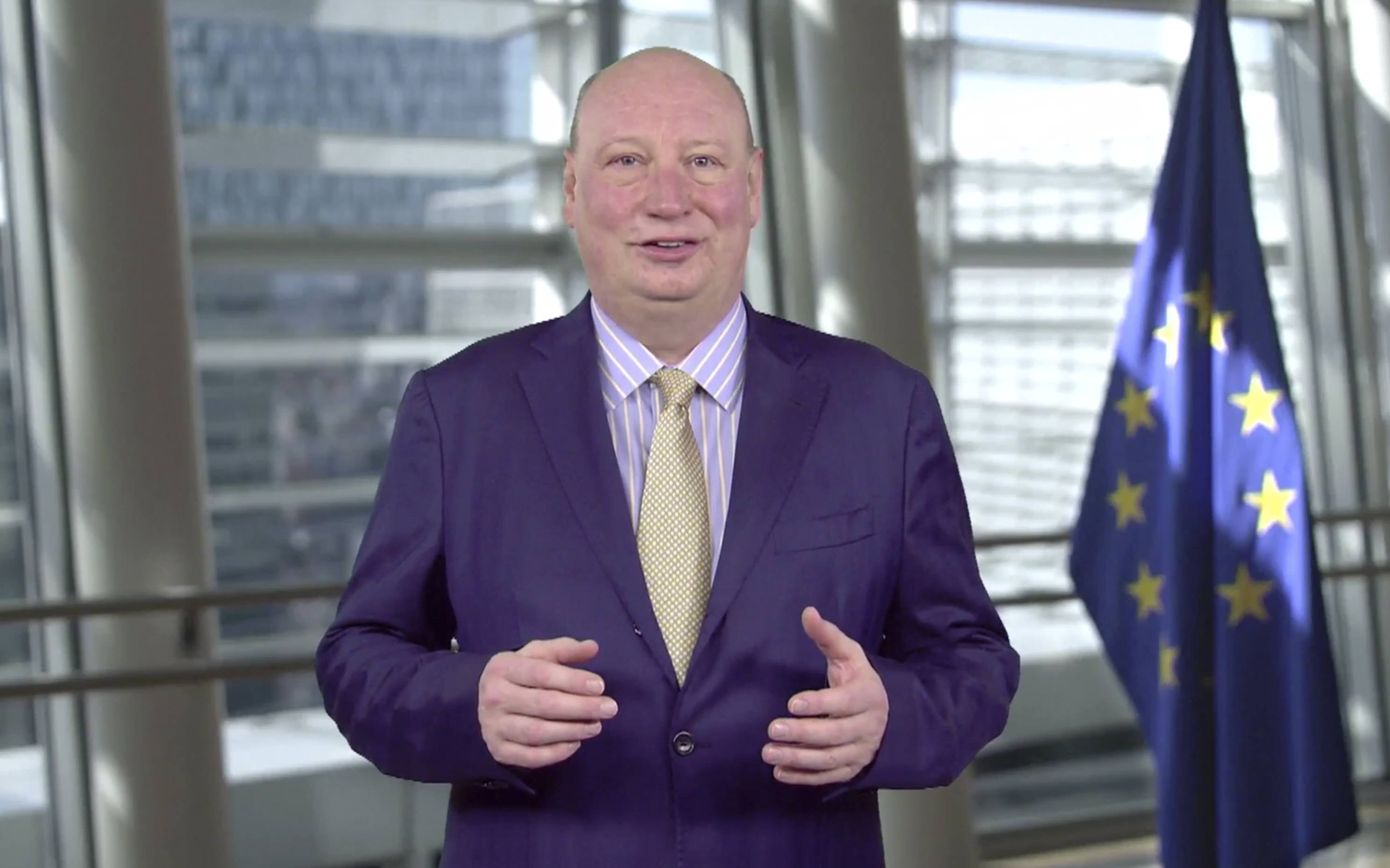 Henrik Hololei, Generaldirektor der EU-Kommission für Mobilität und Verkehr