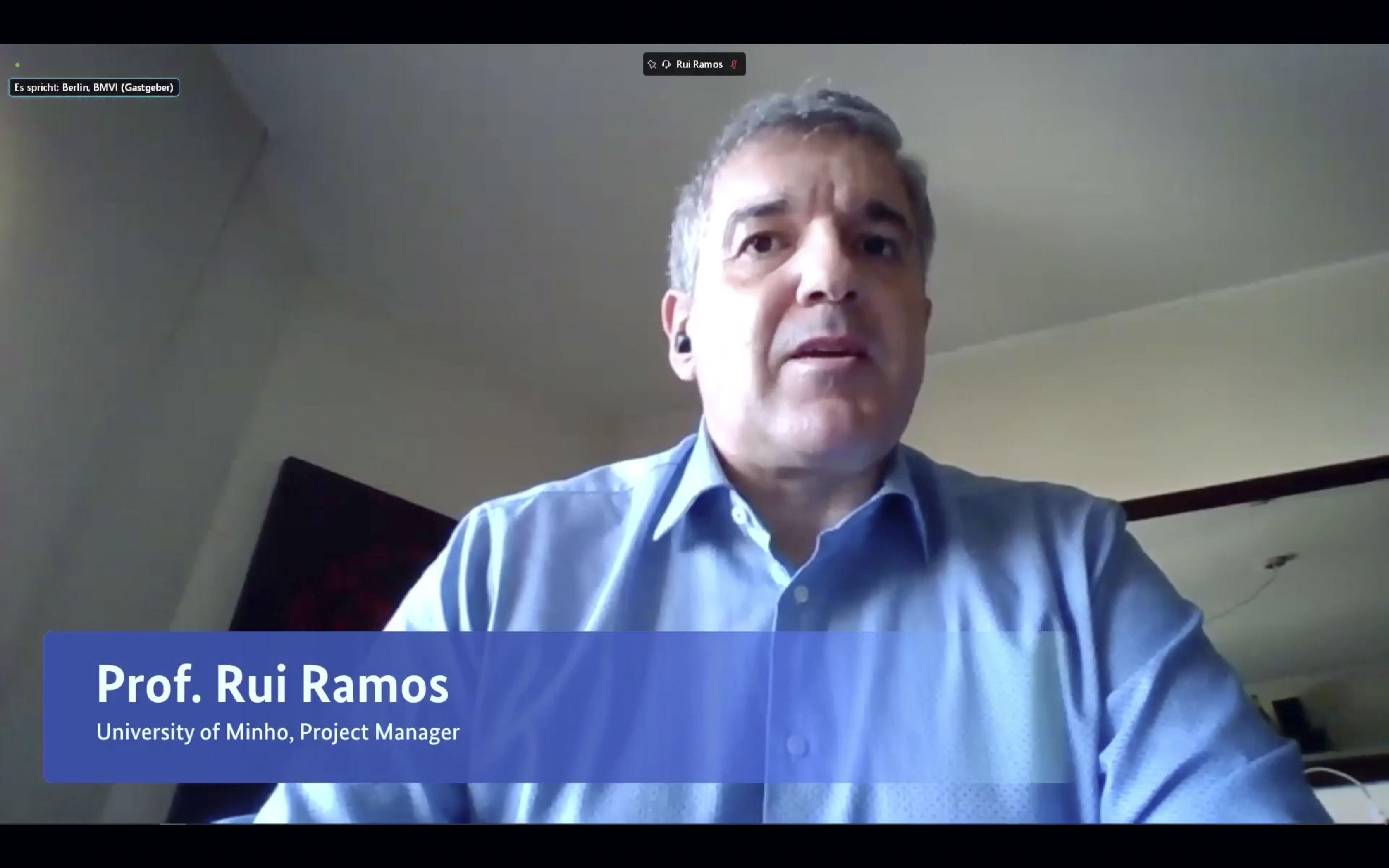 Rui Ramos von der Universität Minho
