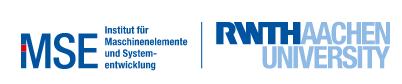 Logo Maschinenelemente RWTH Aachen