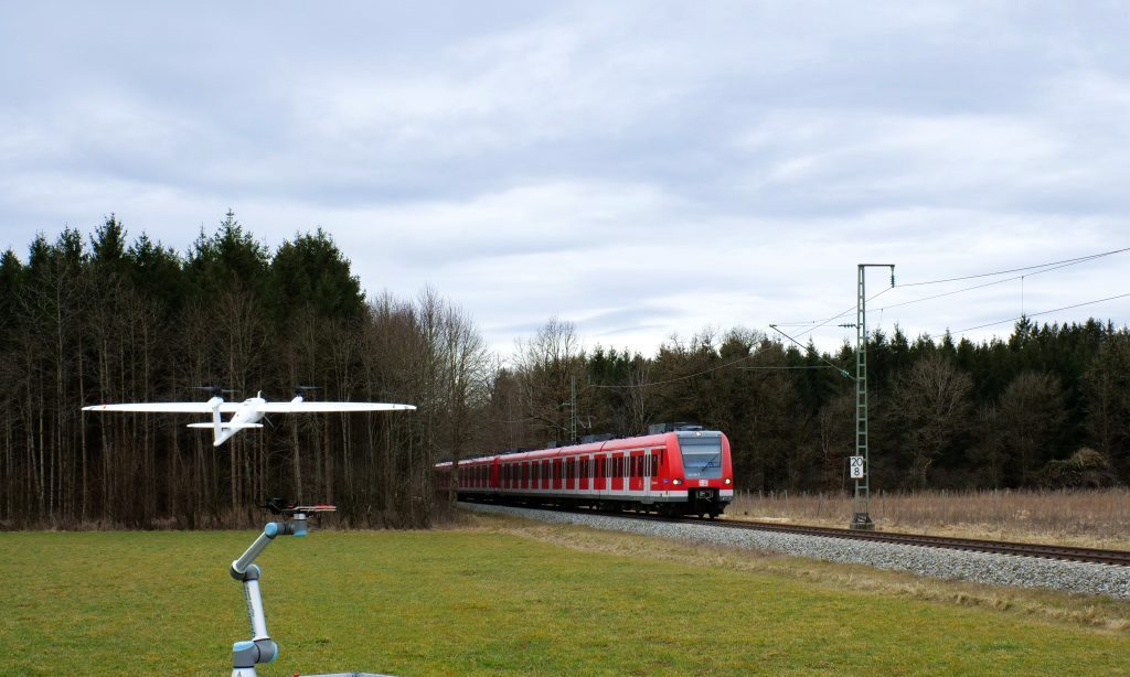 … des Zustands der Vegetationen entlang von Bahnstrecken zum Einsatz.