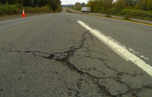 22 Road damage22 von Oregon DOT via Flickr CC BY 2 0