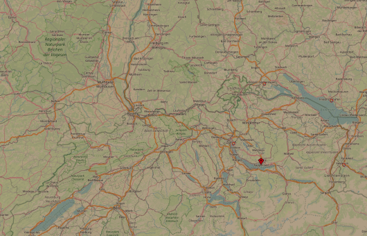 Rapperswil Open Street Map