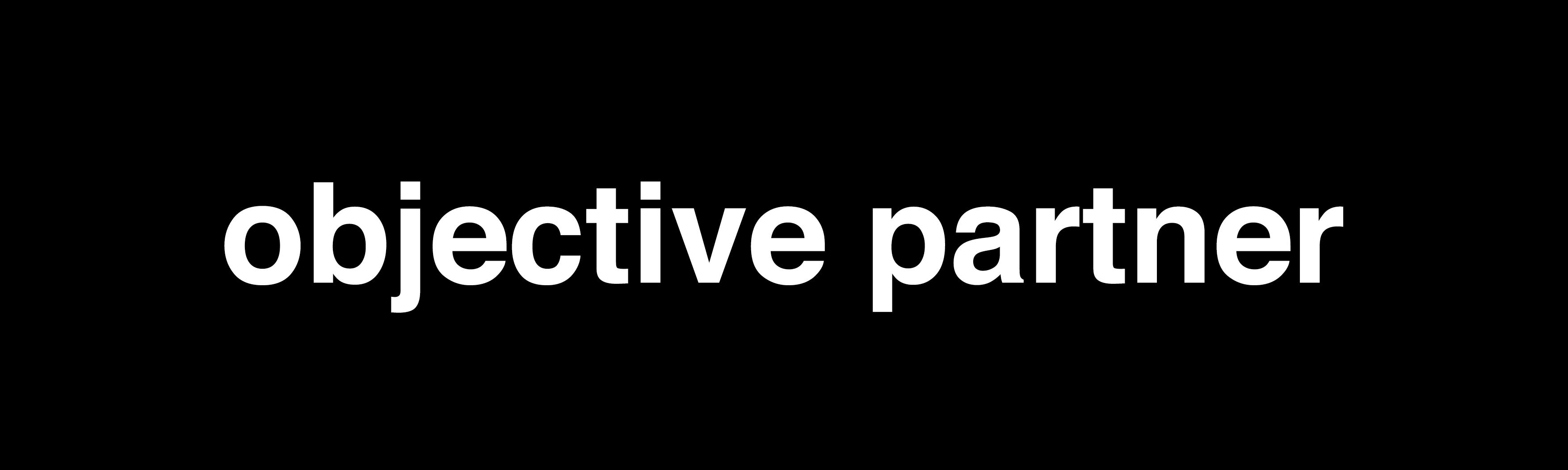 Logo objective partner